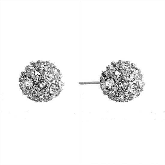 Gloria Vanderbilt 1 Inch Stud Earrings