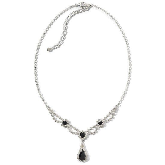 Vieste® Teardrop Flower Necklace