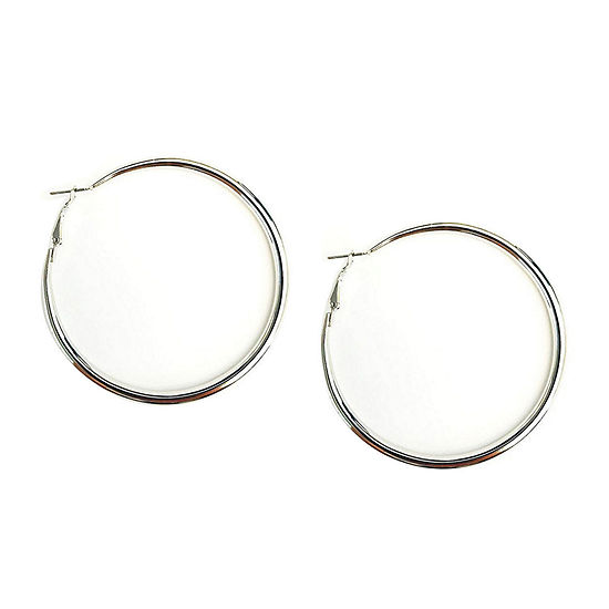 Arizona Gray Hoop Earrings
