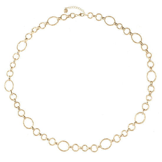 Monet Jewelry 34 Inch Cable Link Necklace