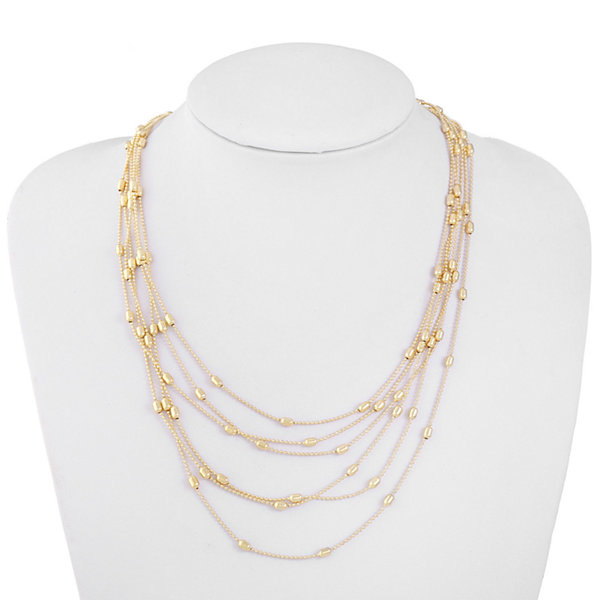 Liz Claiborne 18 Inch Cable Strand Necklace
