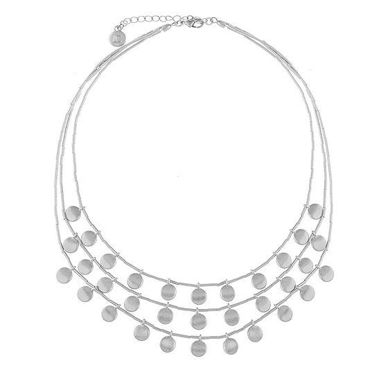 Liz Claiborne 16 Inch Cable Collar Necklace