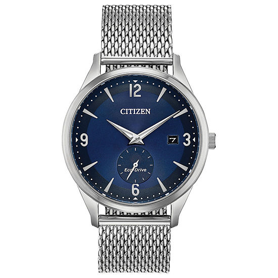 Drive from Citizen Mens Silver Tone Stainless Steel Bracelet Watch-Bv1110-51l