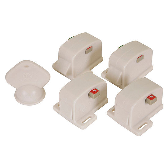 Safety 1st Complete Magnetic 4-Pack 4-pc. Safety Locks