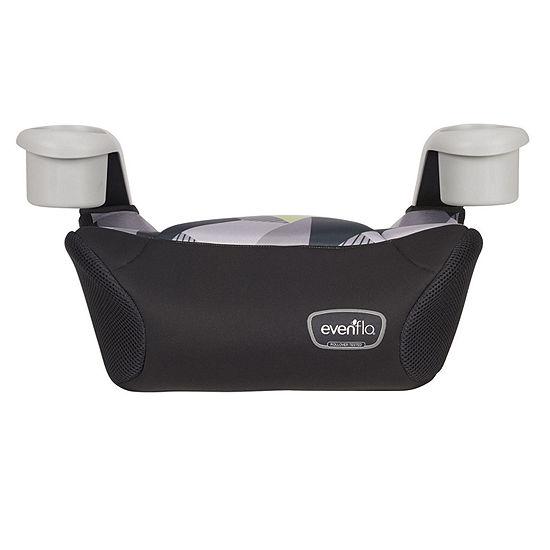 Evenflo Big Kid Sport No Back Booster Car Seat - Gray Fractals