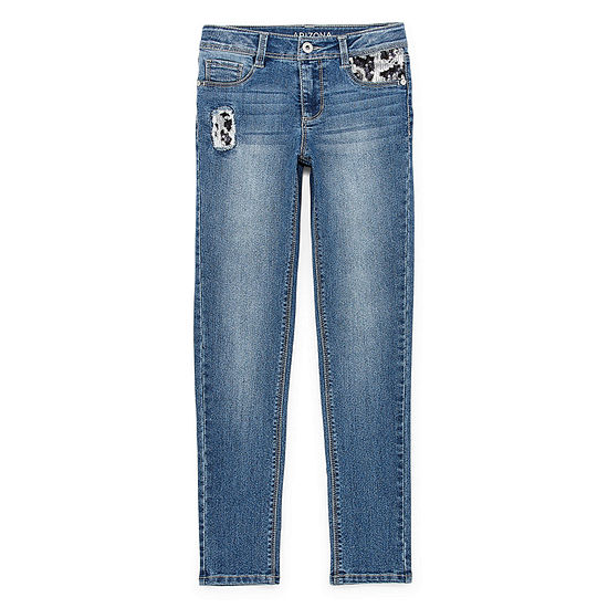 Arizona Little & Big Girls Skinny Fit Jean