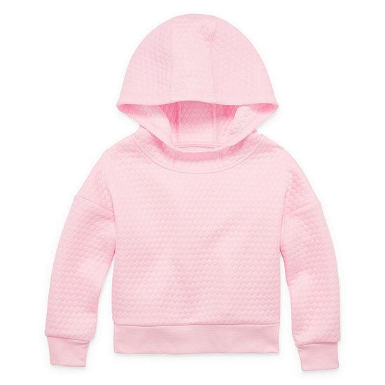 Xersion Girls Drop Shoulder Sleeve Hoodie - Preschool / Big Kid