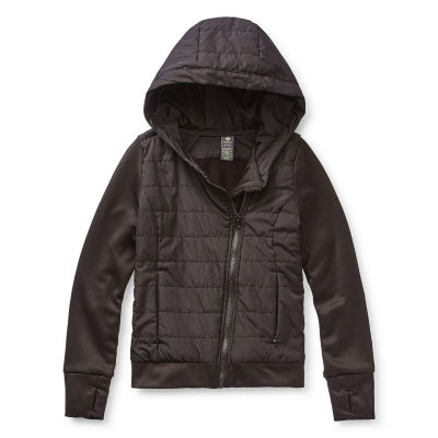 Xersion Little & Big Girls Lightweight Puffer Jacket