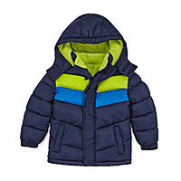 JCPenney deals on Okie Dokie Boys Fleece Lined Water Resistant Puffer Jacket