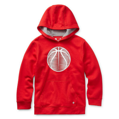 Xersion Cotton Fleece Boys Cuffed Sleeve Hoodie - Preschool / Big Kid