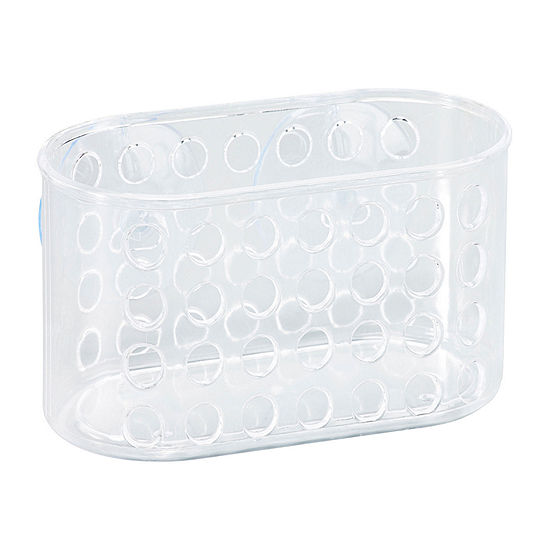 Kennedy International Clear Suction Bath Basket