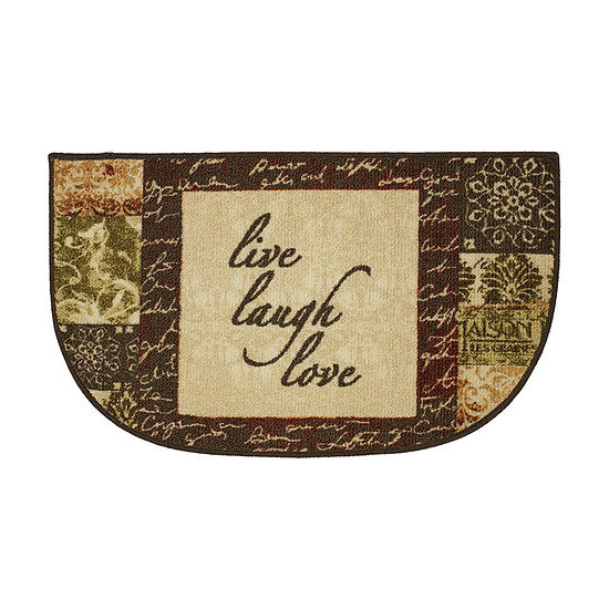 JCPenney Home Live - Laugh Printed Wedge Indoor Rugs