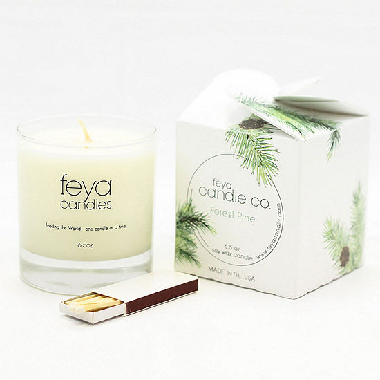 Feya Candle 6.5oz Forest Pine Soy Candle