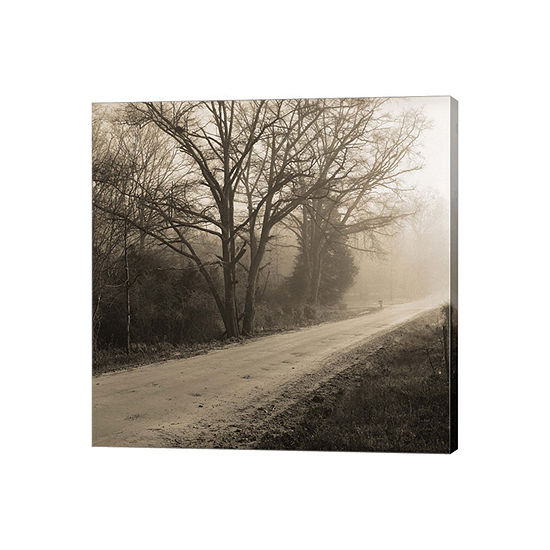 Veras Road Gallery Wrapped Canvas Wall Art On Deep Stretch Bars