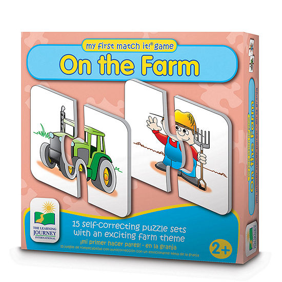 The Learning Journey My First Match It - On the Farm