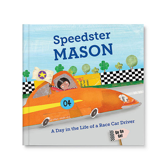 Speedster Personalized Book