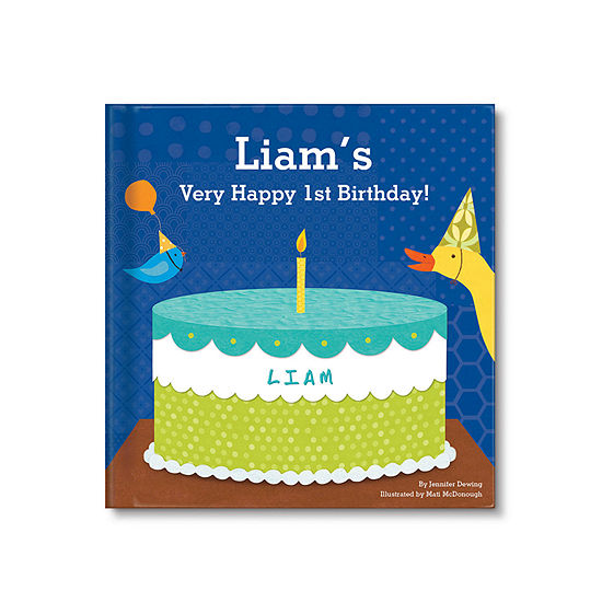 My Very Happy Birthday Personalized Book For Boys
