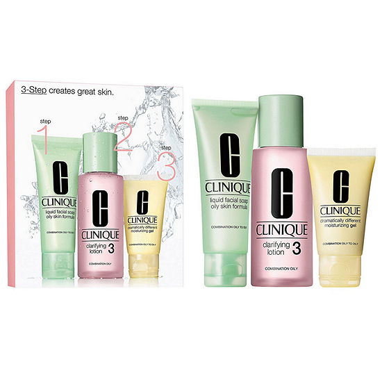 CLINIQUE 3-Step Introductory Kit For Oilier Skins