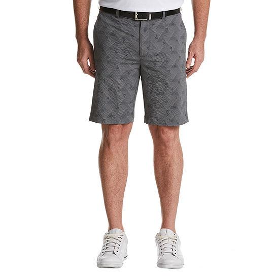 PGA TOUR Mens Mid Rise Moisture Wicking Golf Short