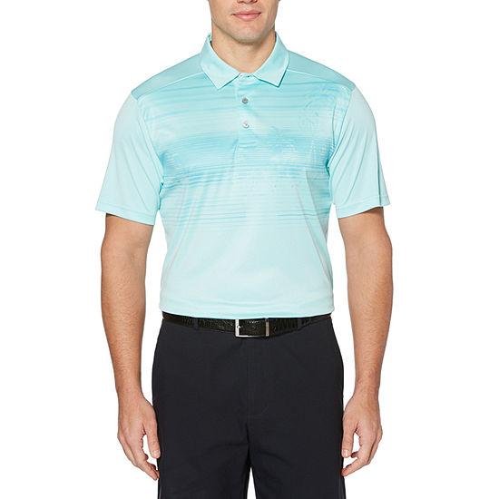 PGA TOUR Mens Short Sleeve Polo Shirt