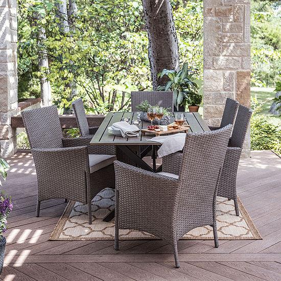 Outdoor Oasis Lakehurst 7-pc. Patio Dining Set