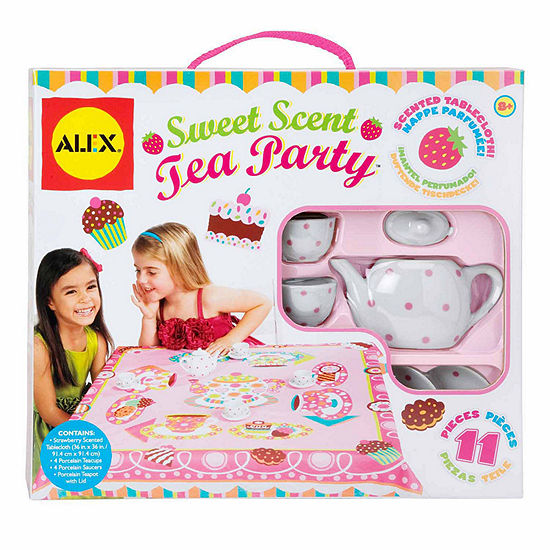 Alex Toys Sweet Scent Tea Party 11-pc. Play Food