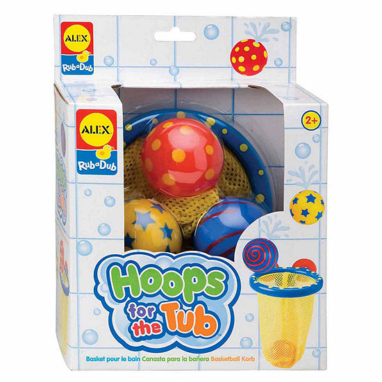 Alex Toys Rub A Dub Hoops For The Tub Bath Toy