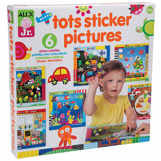 Alex Toys Alex Jr Tots Sticker Pictures Discovery Toy