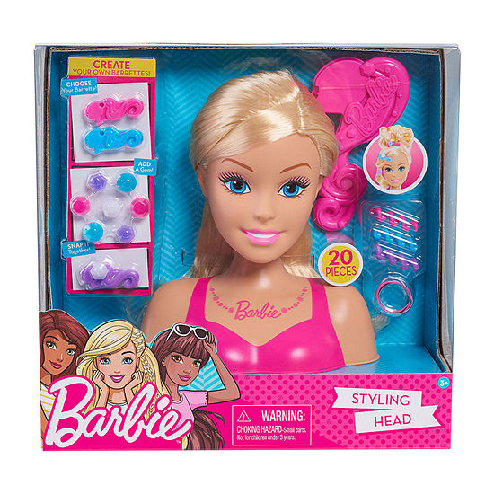 Barbie Glam Party 20-pc. Styling Head - Blonde