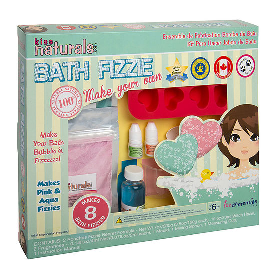 Kiss Naturals Diy Bath Fizzie Making Kit
