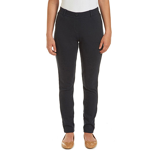 IZOD Womens Low Rise Slim Jegging-Juniors