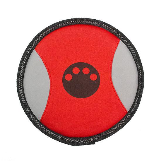 The Pet Life Active-Life Extreme Neoprene Floatation Frisbee Chew-Tough Dog Toy