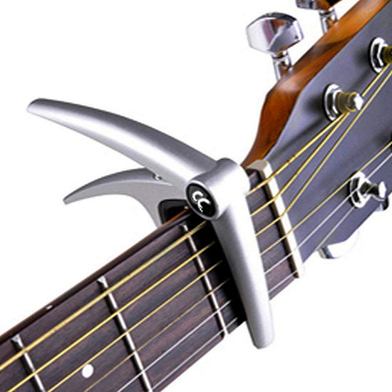 ChromaCast Single-Handed Quick Change Six-String Capo for Acoustic and Electric Guitars