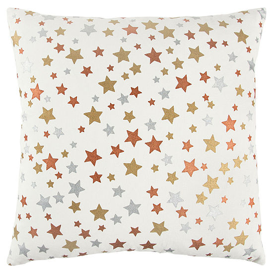 Andrew Charles By Rizzy Home Juan Star Pattern Filled Pillow