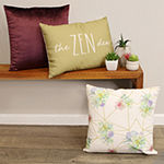 Stratton Home Decor The Zen Den Rectangular Throw Pillow