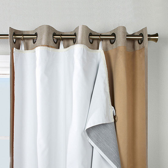 Ultimate Liner Energy Saving Noise Reduction Back-Tab Curtain Liner