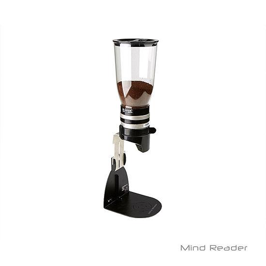Mind Reader Metal Single Standing Base with Coffee, Sugar Dispenser