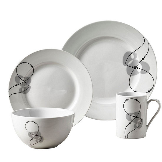 Tabletops Unlimited Jacqueline 16-pc. Dinnerware Set