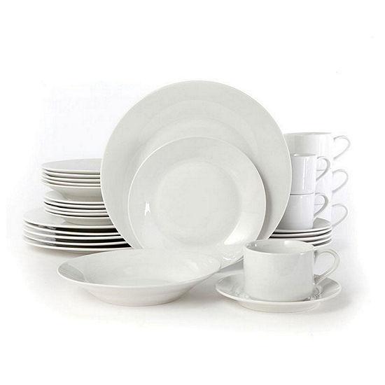 Gibson Rosendal 30-pc. Dinnerware Set