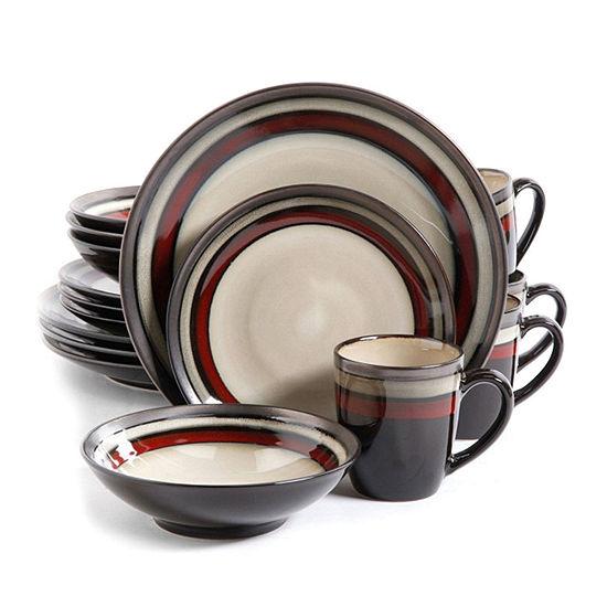 Gibson Lewisville 16-pc. Dinnerware Set
