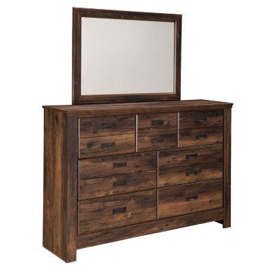 Signature Design by Ashley® Quinden Dresser and Mirror