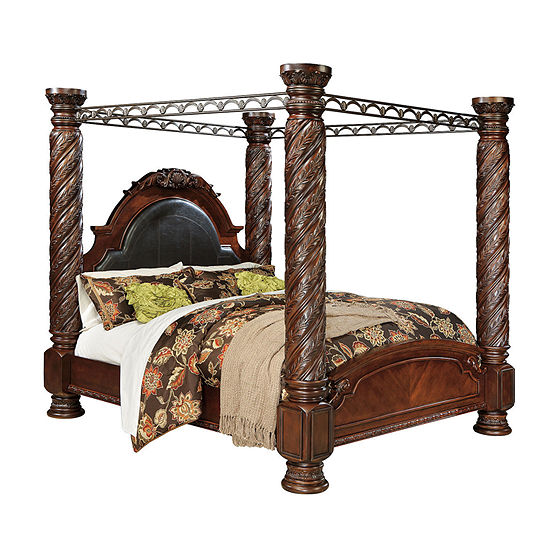 Signature Design by Ashley® North Shore Canopy Bed