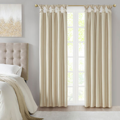 Madison Park Natalie 100% Blackout Tab-Top Single Curtain Panel
