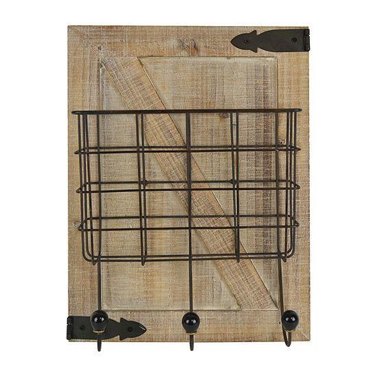 Wood Bins & Wall Basket