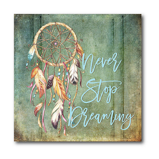 Courtside Market Dreamcatcher Canvas Art
