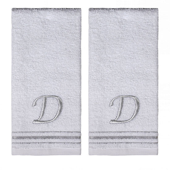 Saturday Knight 2-Pack D Monogram Hand Towel