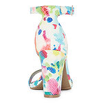 Worthington Womens Beckwith Heeled Sandals