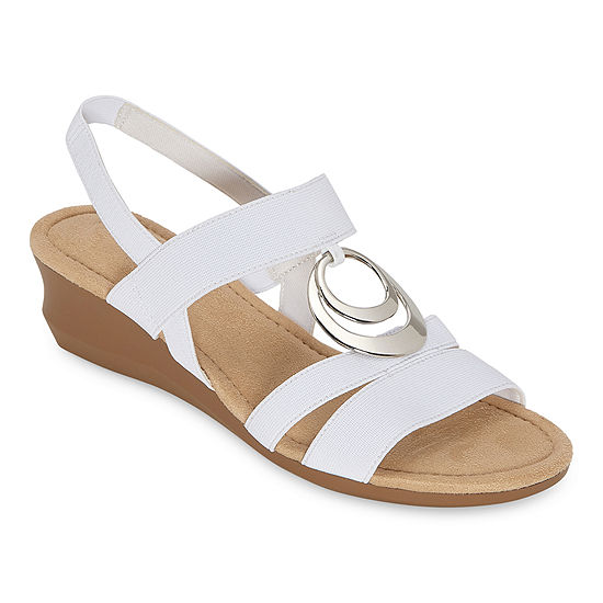 east 5th Womens Gear Wedge Sandals