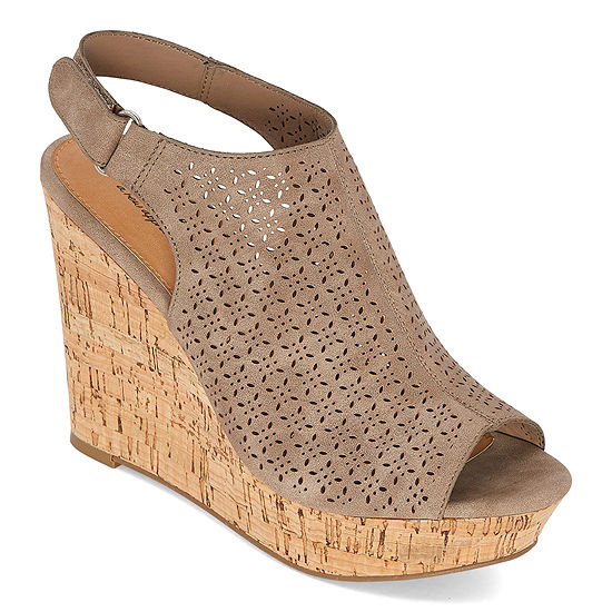 a.n.a Womens Malik Wedge Sandals