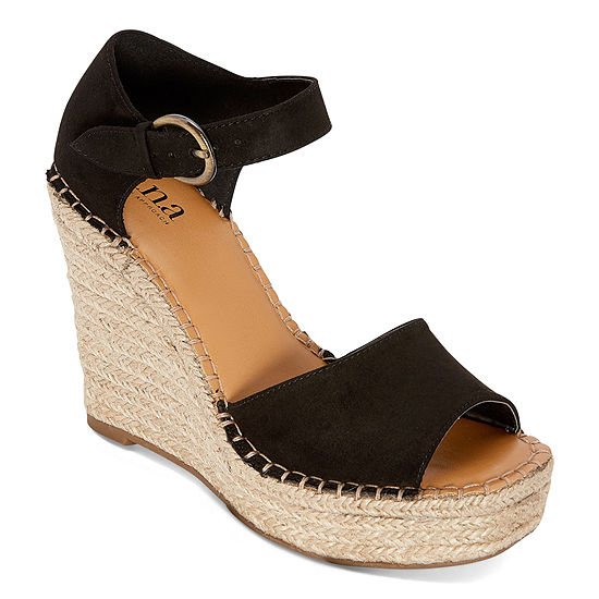 a.n.a Womens Xyla Wedge Sandals